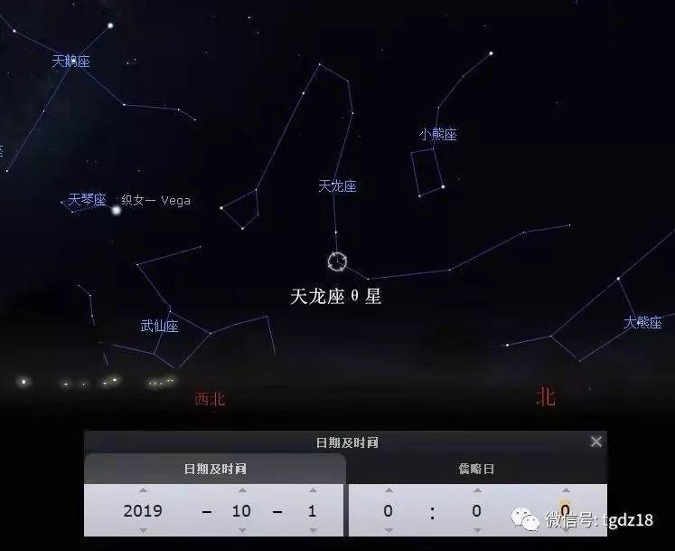 给大家普及一下新中国成立时的星象感应